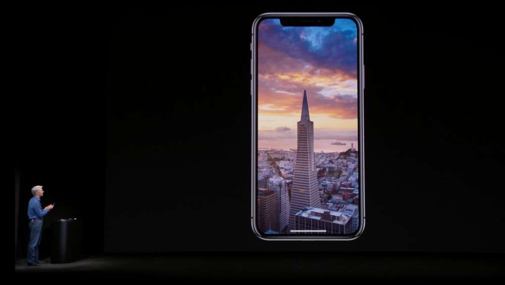 iphone x das topmodell mit randlosem display techniknews. Black Bedroom Furniture Sets. Home Design Ideas